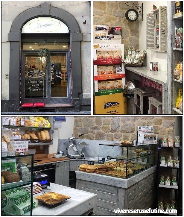 Starbene Gold forno pasticceria senza glutine a Firenze
