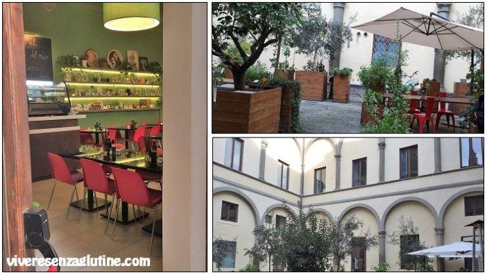 Quinoa gluten-free restaurant in Florence