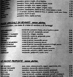 Be Bop Milano - Vai al menù