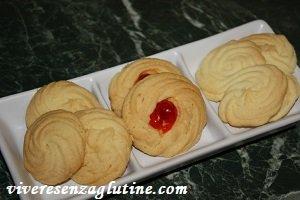 Gluten-free butter cookies