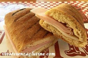 panini senza glutine