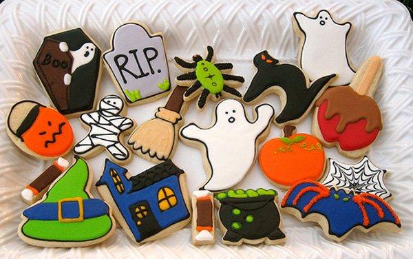 Biscotti decorati halloween