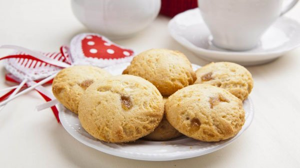 Biscotti alle mele senza glutine