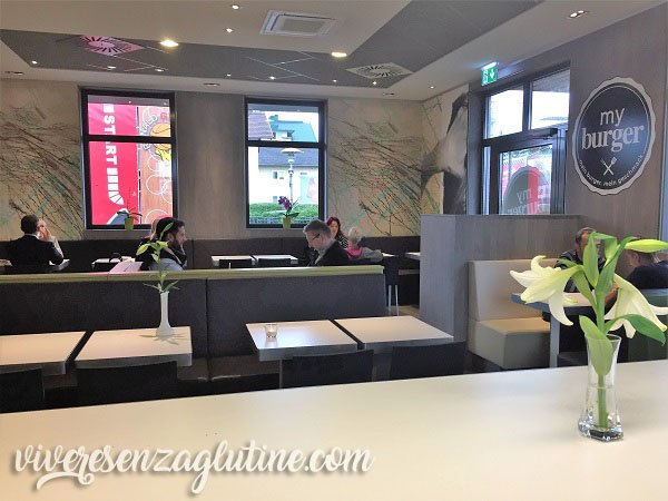 McDonald's gluten-free in Austria