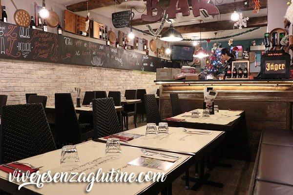 Mama Eat Trastevere gluten-free restaurant in Rome