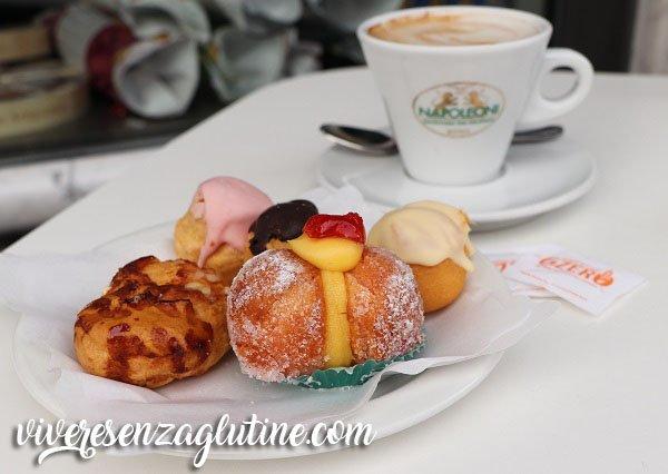 Pasticceria Napoleoni colazione senza glutine