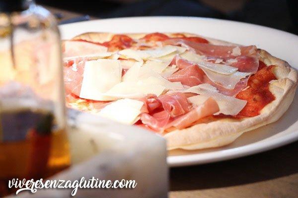 VAPIANO gluten-free pizza