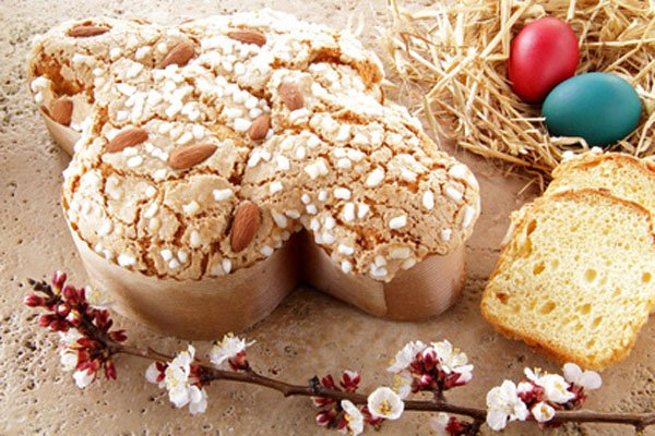 Easter Dove Cake gluten-free