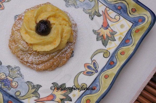 Father's Day gluten-free recipes - Gluten free Zeppole di San Giuseppe
