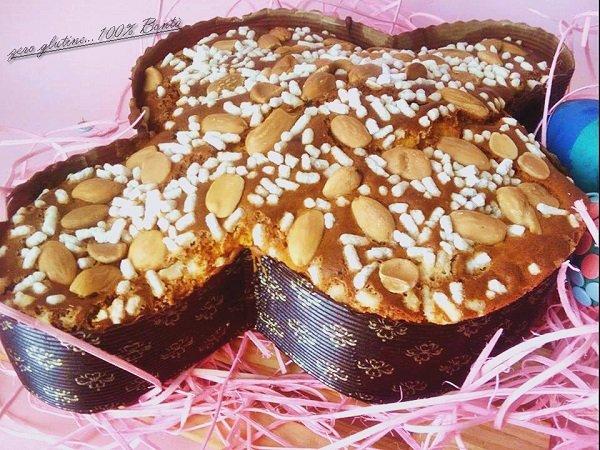 Colomba di Pasqua senza glutine