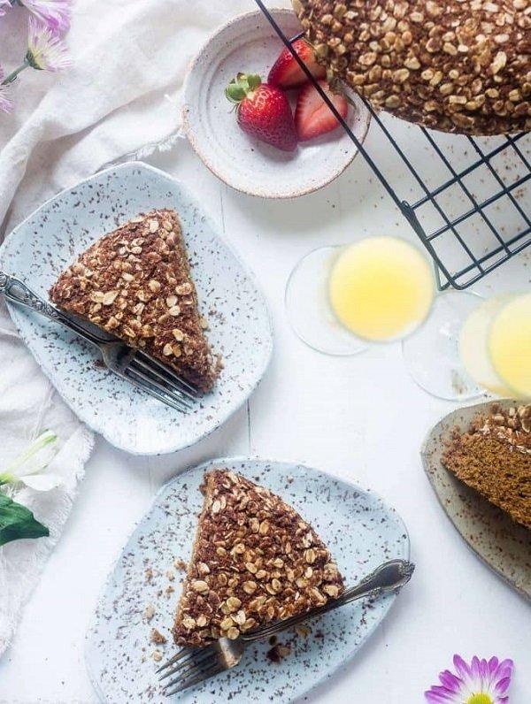 Mimosa gluten-free coffee cake