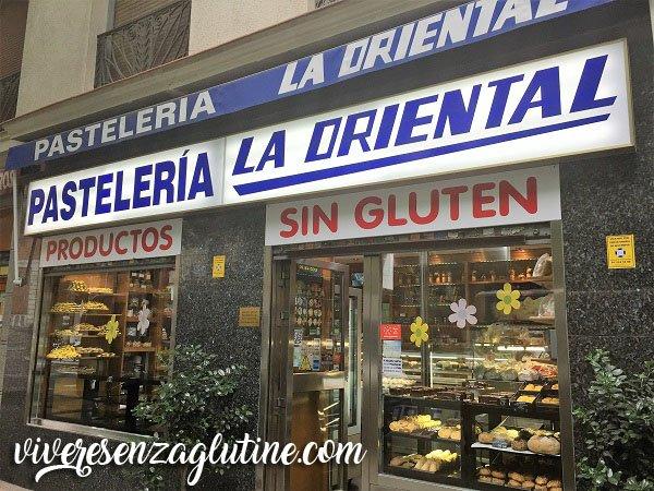 La Oriental - gluten-free bakery in Madrid