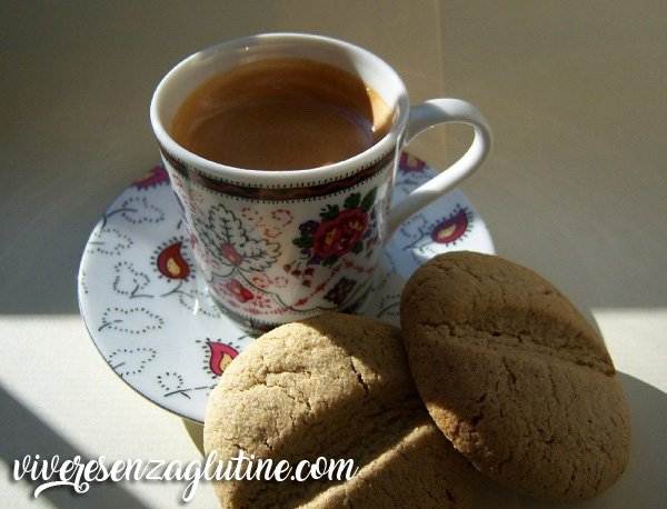 Gluten-free coffee beans cookies