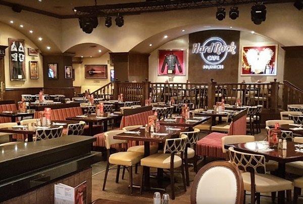 Hard Rock Café Munich - gluten-free restaurant