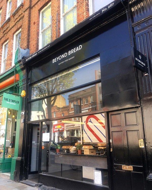 Beyond Bread forno senza glutine a Londra