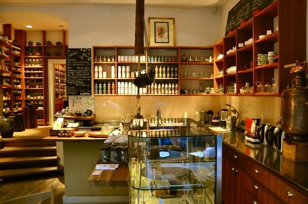 Tushita Teehaus - sala da tè senza glutine a Monaco di Baviera