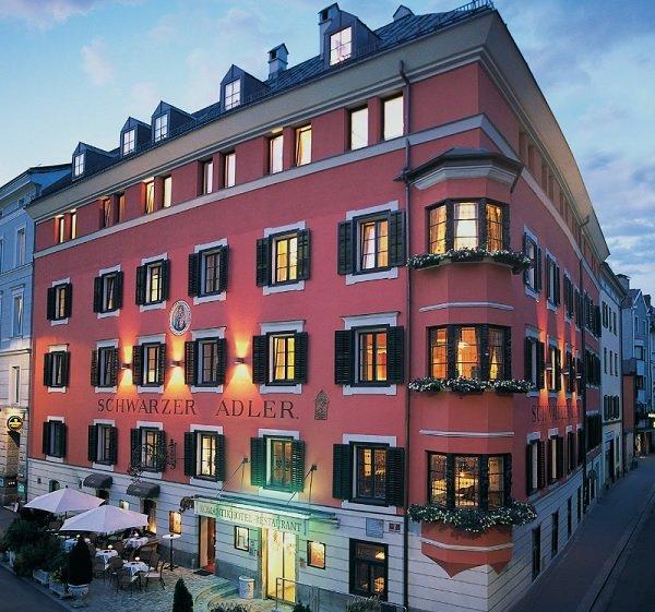 Hotel Schwarzer Adler with gluten-free breakfast in Innsbruck