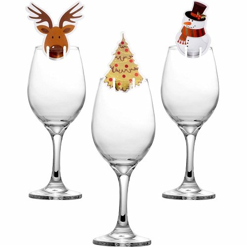 segna bicchieri di Natale