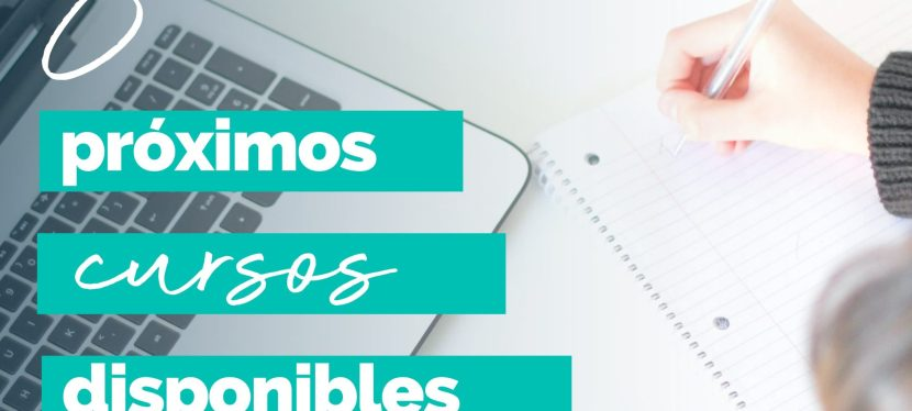 8 proximos cursos disponibles