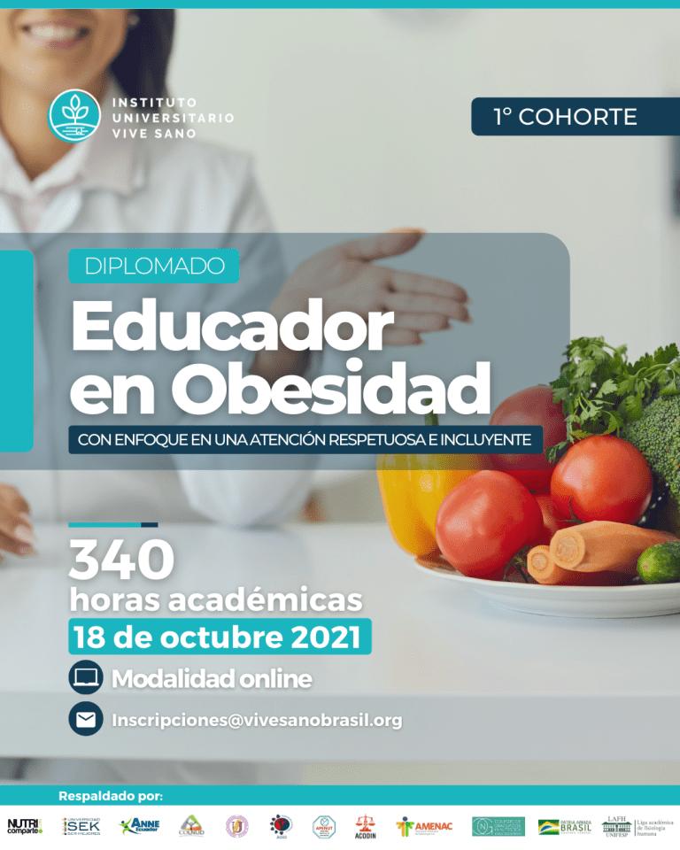 Afiche – Dip. Educador en Obesidad