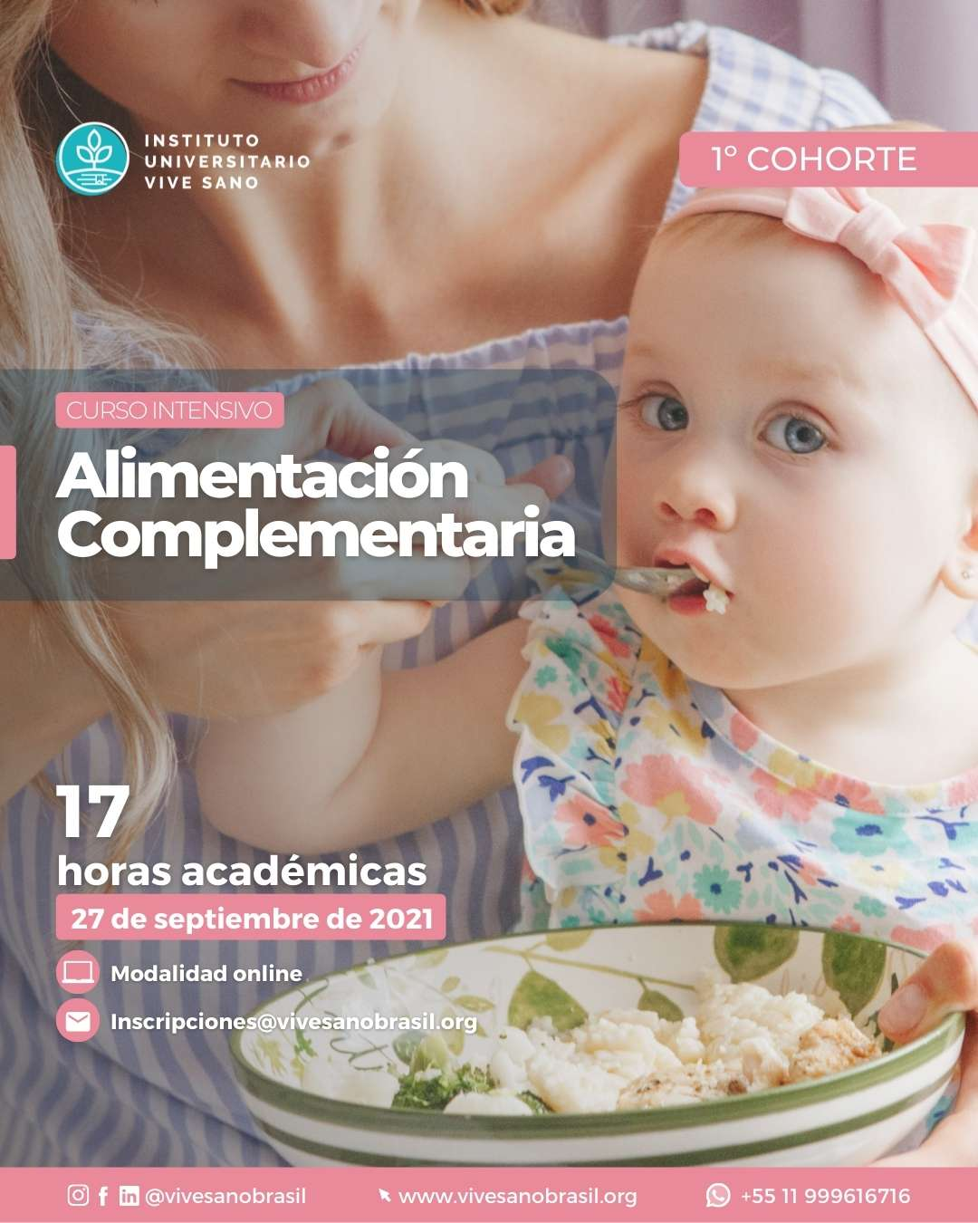 Afiche – Alimentación Complementaria