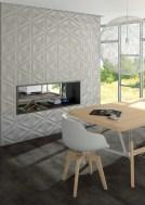 Ambiente con piezas de la serie Elvida