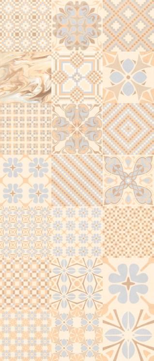1900: Tassel Crema - 20x20cm. | Pavimento - Gres | VIVES Azulejos y Gres S.A.