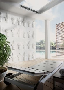 Cactus-A-B-C - Blanco Brillo · 30x60 cm
