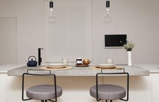 Detalle de un proyecto de interiorismo en Barcelona