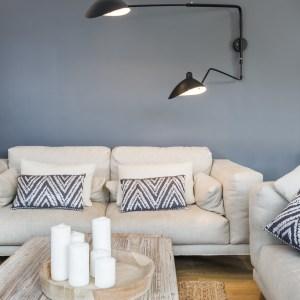 decoración con iluminacón salón