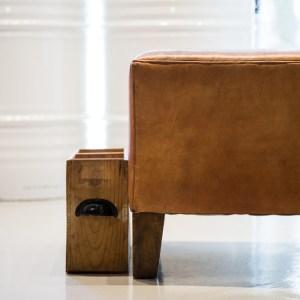 Espacio moderno Muebles vintage