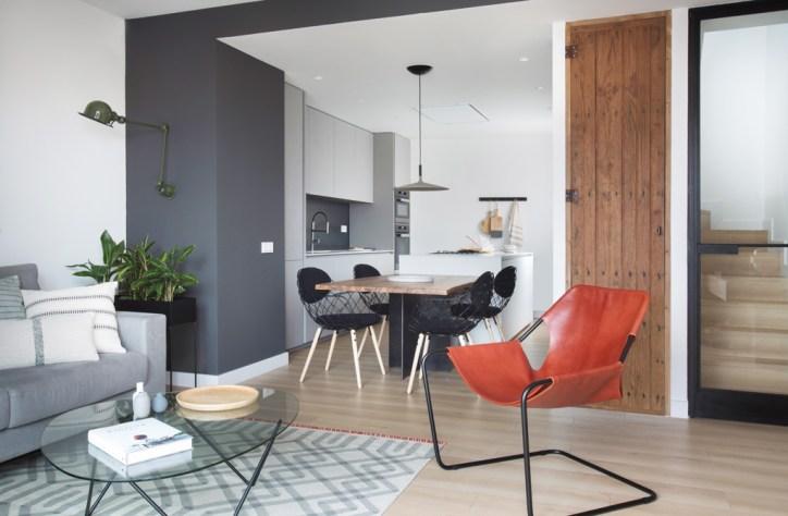 decoración salón con silla diseño
