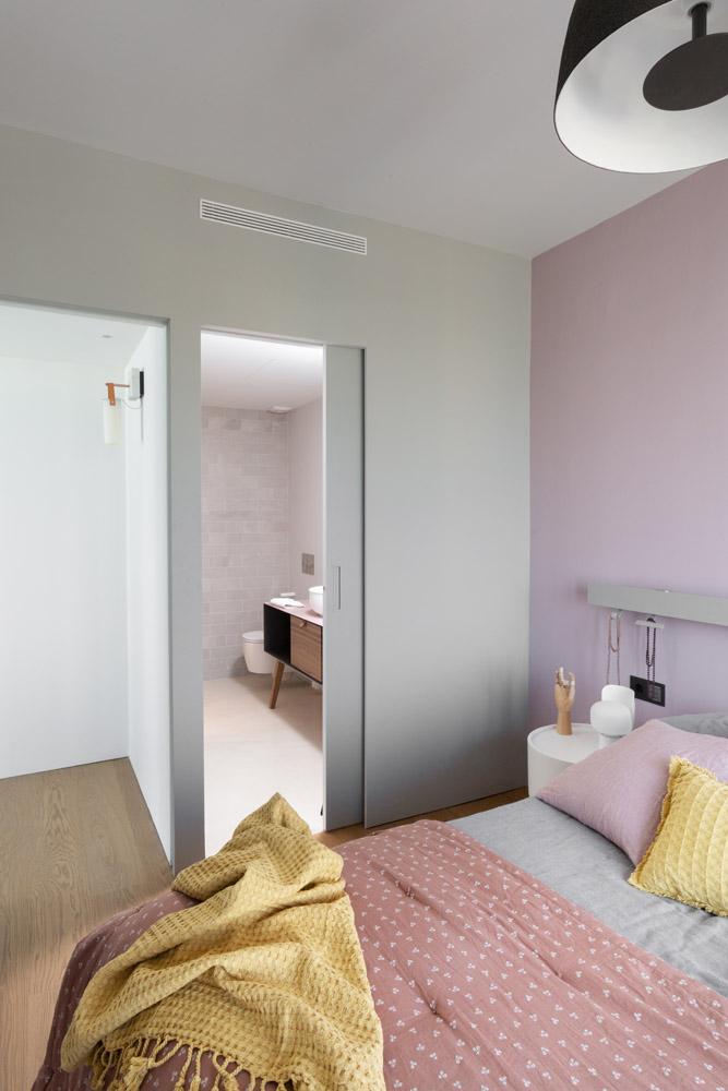 Habitación suite ático dúplex Barcelona