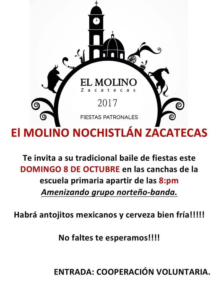 Baile de Fiestas Patronales de El Molino