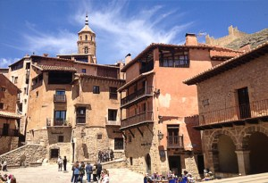 Plaza Mayor de Albarracin
