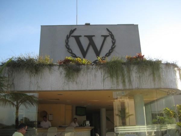 Windsor logo at rooftop bar