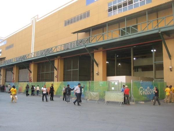 Accreditation area Rio