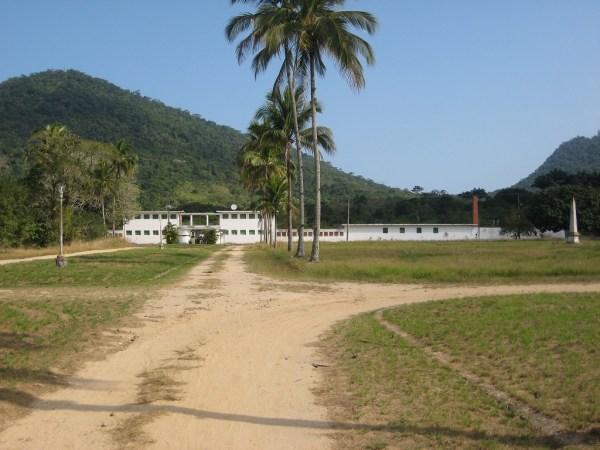 the former prison