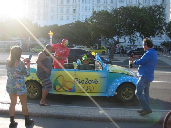 Rios gay mascot