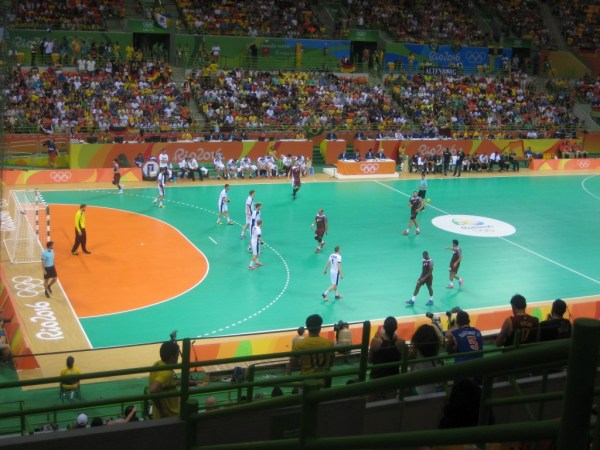 Handball Germany vs Qatar 4