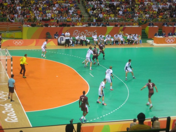Handball Germany vs Qatar 5