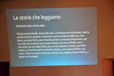 l'importanza di certe storie