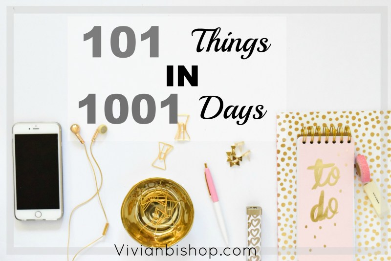 101-things-in-1001-days