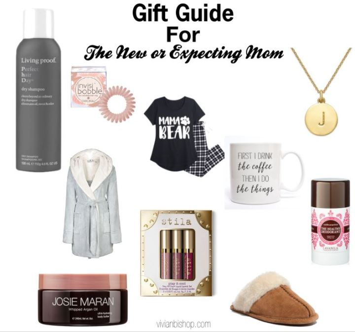 A gift guide for the new or expecting mama