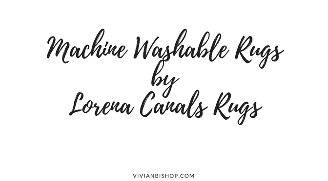 Machine Washable Rugs From Lorena Canals