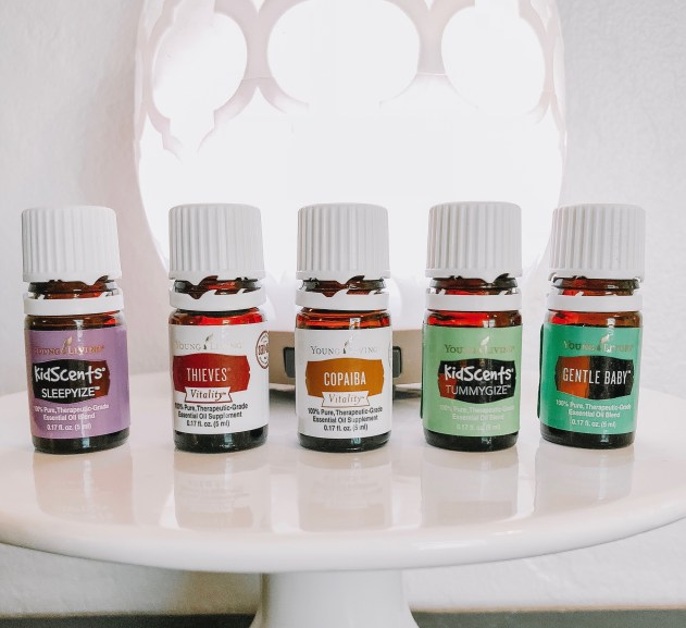 Young Living Oils for Toddlers