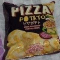 Calbee Pizza Potato Chips