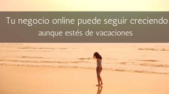 Negocios online en verano