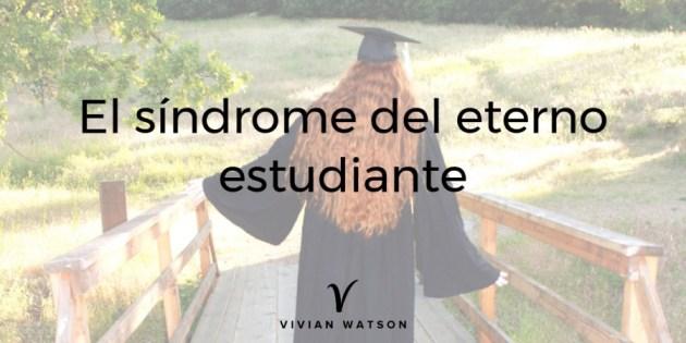 Síndrome del eterno estudiante