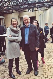 Gittan och Ralf Långbacka med Ragni Grönblom .